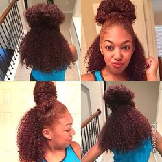 naturalhairdaily:  Love this quick and easy style