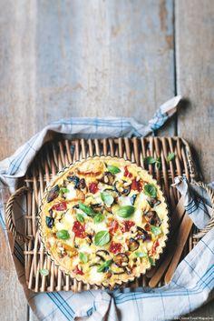 Pour une tarte encore plus gourmande, ajoutez un peu de mozzarella ou de ricotta…