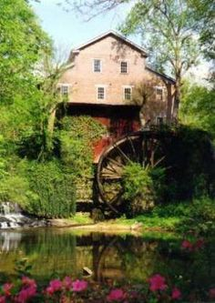 Falls Mill Belvidere, TN...be sure and take the tour inside as well