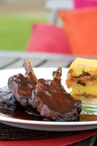 Denningvleis (Cape Malay saucy chops) from Food from the heart. Courtesy of Lapa Publishers, photo by Adriaan Vorster