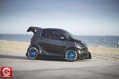 The Coolest Smart Car. Benz Smart, Smart Car, Smart Auto, Smart Roadster, Smart Fortwo, Honda Fit, Fit Car, Top Luxury Cars, Tuner Cars