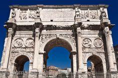 Arco de Constantino, un homenaje a su triunfo #roma #viajar #italia