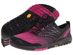 Merrell Ascend Glove Gore-Tex® - Charge over the mountains and rocky terrain in the minimal Ascend Glove Gore-Tex® waterproof sneakers from Merrell®