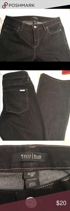 White House black-market boot leg jeans Brand-new pair of jeans size 4 R White House Black Market Pants