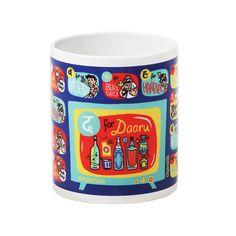 Buy D For Daaru Coffee Mug Online - Chumbak