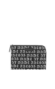 Ipadfodral Dynamite Logo Mini Tablet Zip BLACK - Marc by Marc Jacobs - Designers - Raglady