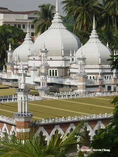 Jamek Mosque of Kuala Lumpur, Malaysia