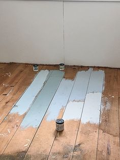 If you want to paint a wood floor, this post will show you some different color options and the paint for wood floors we used and loved! floors Paint For Wood Floors In The Flip House