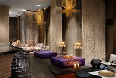 W South Beach-Living Room Bar