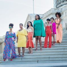 """The 7 Black Queens of """"The Bedazzled Crown"""" Project 