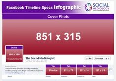 Everything you need to know when designing your FaceBook Timeline.     What you can and can't do as well as the dimensions for each aspect of your Timeline. Great reference to have.