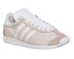 Buy Halo Pink White Adidas Country Og from OFFICE.co.uk. Pink And White Adidas, Pink White, Adidas Country, Halo, Adidas Sneakers, Unisex, Stuff To Buy, October, Style