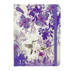 Peter Pauper Press notitieboek Hummingbird. notitieboekje, notitieboekjes, opschrijfboekje, kolibrie, paars, purple, vogel, bird, journal, journals #peterpauper  #peterpauperpress