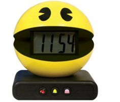 Buy Pac-Man Alarm Clock today at IWOOT. We have great prices on gifts, homeware and gadgets with FREE delivery available. Pac Man, Retro Videos, Retro Video Games, Gadget Gifts, Digital Alarm Clock, Alarm Clocks, Cooking Timer, Game Room, Inventions