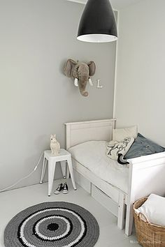 White feather dream kids room