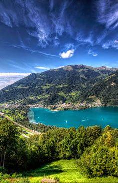 Lake Walensee, Eastern Switzerland.
