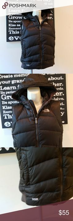 🍭NORTH FACE 550 PUFFER VEST Olive/Chocolate Color Absolutely stunning North Face Vest in great condition. Rare color and super warm. Has hood.    Also CHECK OUT my  🦄3 for $15🦄, 💋3 for $24💋 &♥️10 for $10♥️ SALE!  Why SHOP MY Closet? 💋Smoke/ Pet Free 💋OVER 1000 🌟🌟🌟🌟🌟RATINGS 💋POSH AMBASSADOR &TOP 10% Seller  💋TOP RATED 💋 FAST SHIPPER   💋BUNDLES DISCOUNT 💋EARN VIP DOLLARS W/ EVERY PURCHASE ❤HAPPY POSHING!!! 💕 The North Face Jackets & Coats Vests