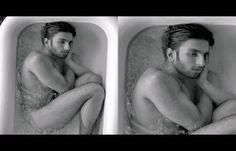 #RanveerSingh's Nude Bathtub Photoshoot Is Breaking The #Internet With Trolls