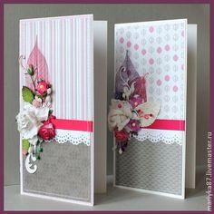Открытка арт.021_12-13 - Открытка ручной работы,открытка,розовый,с днем рождения