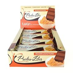 Bariatric Fusion Protein Bar Chocolate Peanut Butter 12 Ct Box ** Be Sure  To Check