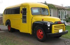 antique school bus - Google Search