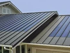 Steel roof system at http://homerenovationguy.blogspot.ca