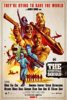 The Suicide Squad (2021) – Szukaj wGoogle Michael Rooker, Peter Capaldi, Jai Courtney, Nathan Fillion, Idris Elba, Sylvester Stallone, John Cena, Margot Robbie, Dc Movies