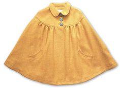 British Wool Cape, £275.00  Original printed cotton lining