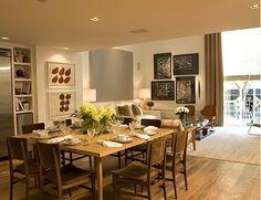 sala de jantar super ampla de dado castello branco
