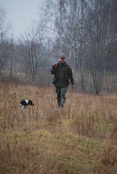 Upland hunt.