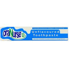This #unflavoured toothpaste was initially developed as a #result of autistic children who have a problem with taste, even to the extent of not liking the taste o...