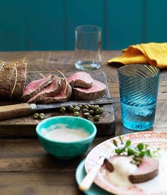 Cold roast beef fillet with tonnato sauce |