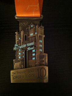 Disney Tower of Terror 10-Miler! The elevator goes up and down and the windows glow in the dark!