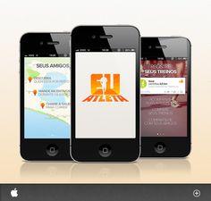 Brasucas, finalmente temos um aplicativo de corrida bacana! Totalmente em português e com a marca Rede Globo.