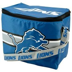 Detroit Lions NFL Insulated Lunch Cooler Bag by Forever Collectibles. $7.95. Support your team and show everybody your a fan with this Insulated Lunch Bag - Cooler by Forever Collectibles! Officially licensed, this convenient lunch bag features the team name scrolling the shoulder strap and team logos and name printed on the cooler. Features a fully lined, insulated vinyl interior which can also double as a cooler and is large enough to hold a six pack of your favorite ...