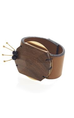 Marni - Abstract Wooden Bangle