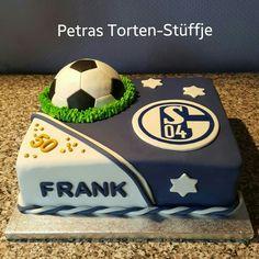 Fußball-Torte Schalke 04