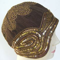 1920 Womans Cloche Hat