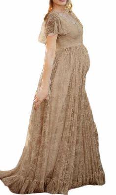 0090dd73a7 Maternity Fashion - prim maternity maxi dress   Ptyhk RG Maternity Lace Maxi  Short Sleeve Photography