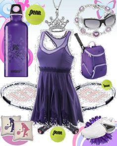 adidas Stella McCartney Tennis Dress Purple  175.00 available at tennis-warehouse.com