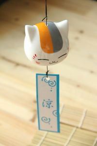 Natsume-Yuujinchou-Nyanko-sensei-Ceramic-Wind-Bell-Hangings-Door-Decoration