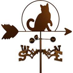 Handmade Cat Weathervane