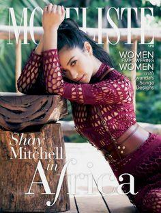 "shaymitchellbeauty: ""Shay Mitchell on the cover of Modeliste magazine 2017 """