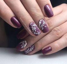 Нетипичный Маникюр Classy Nails, Trendy Nails, Bridal Nails, Wedding Nails, Flower Nails, Nail Flowers, Pastel Nail Art, Toe Nails, Nail Nail