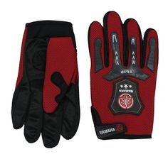 Romano Men's Red Fashion Biker Racing Riding Bikers Gloves -- See this great product.