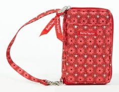 Bella Taylor Poppy Plaid Quilted Cotton Wristlet Wallet Victorian Heart Co., Inc.. $23.95