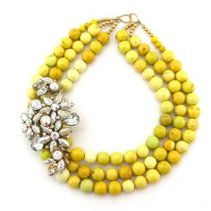 Elva Fields Surround Yourself With Sunny necklace $268