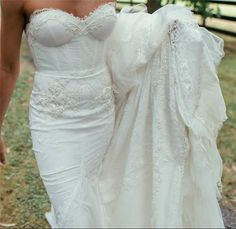 Real bride Katie. Wow look at the detailing on the bodice