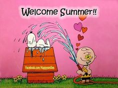 welcome summer (Peanuts)
