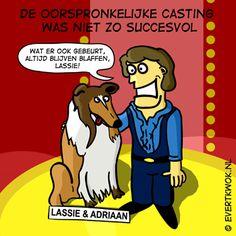 Lassie en Adriaan